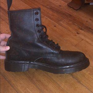 Womens Dr. Martens combat boots